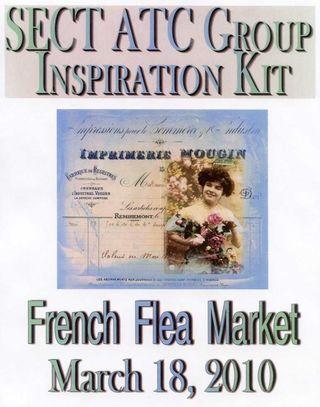 French Flea Market Flyer