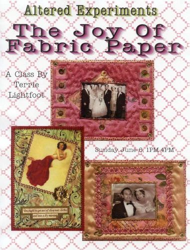 Fabric Paper Flyer