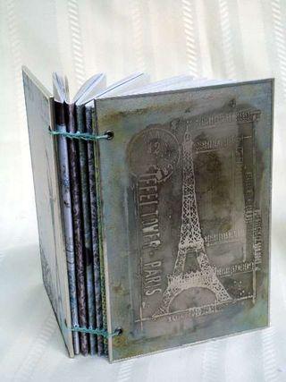 Metal Book Eiffel Large Web view