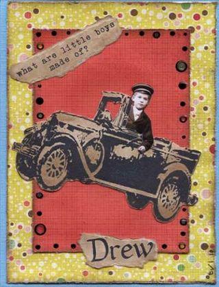 Drew's B-Day card