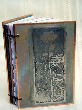 Metal Book Poppy