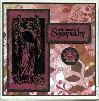 Sympathy card for Scott