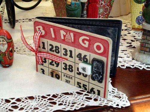 Bingo ATC Flip Book