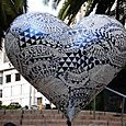 Union Square Zentangle Heart