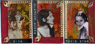 96 dpi Glamour Queens Triptych