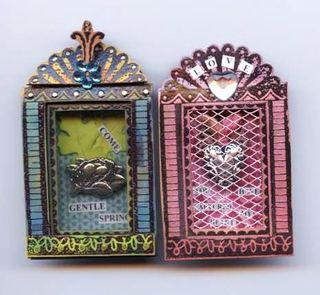 Matchbox Nicho Shrines