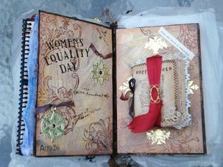 JoAnn's Book- spread in book