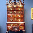 1700's Hand Carved Chest of Drawers