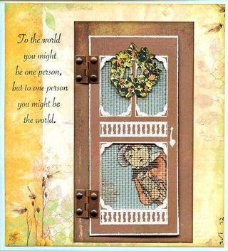 Screen Door Card