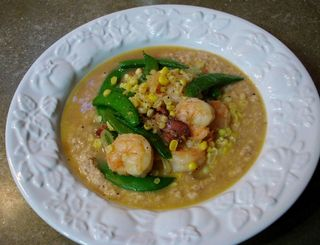 Fresh Corn Grits With Shrimp1 (1024x785)