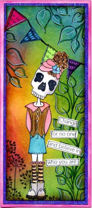 Sarah's B-day Card