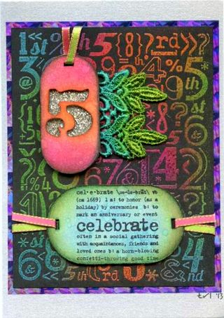 Sara's 5 Yr Anniversary Card