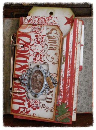 Christmas Journal Cover