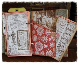 Christmas Journal Cover