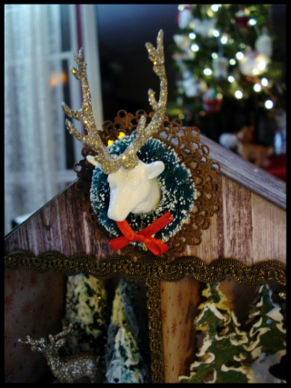 Christmas Assemblage Roof Detail