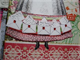 Noelle's Skirt, close-up