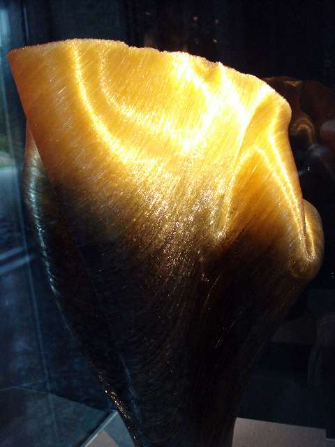 Spun Glass Filiment Vessel - So Cool!!