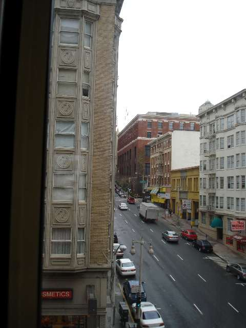 View From Room Taylor St