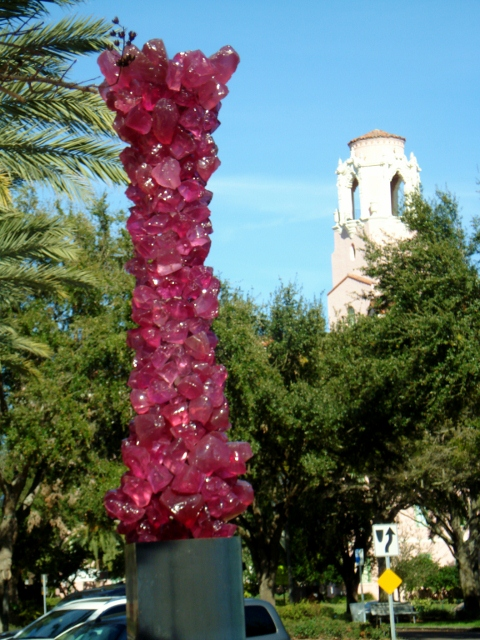 49 Outdoor Chihuly Sculpture