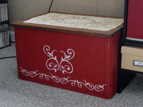 Hanging File Chest